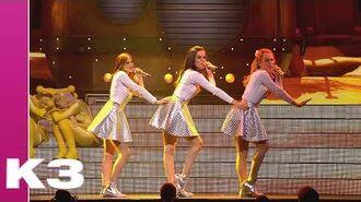 Medley Boembiboem, On va danser en Als het binnenregent - K3 in de ruimte