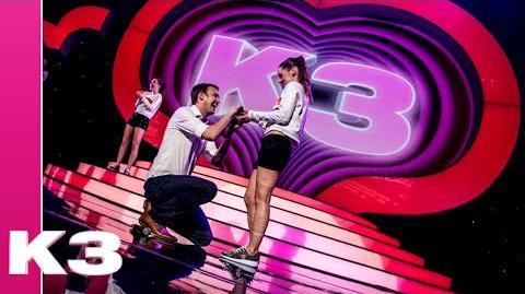Onze K3-dancecaptain Raya zei zojuist JA!