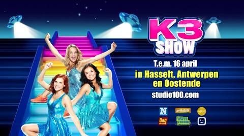 K3 Show 2017 - Trailer 3 (Vlaanderen)