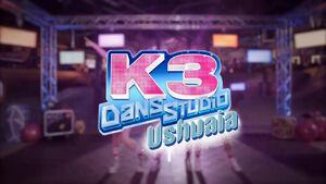 K3 Dansstudio Ushuaia titelscherm