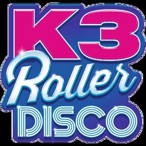 K3 Roller Disco logo