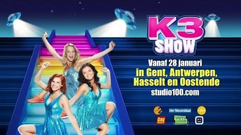 K3 Show 2017 - Trailer (Vlaanderen)