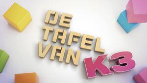 DeTafelVanK3 titelscherm