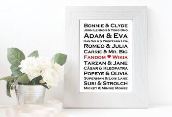 Namen im Rahmen1