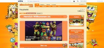 Nickelodeon Wiki Hauptseite