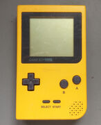 Game Boy Pocket gelb