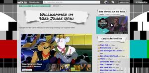 90er Wiki Hauptseite