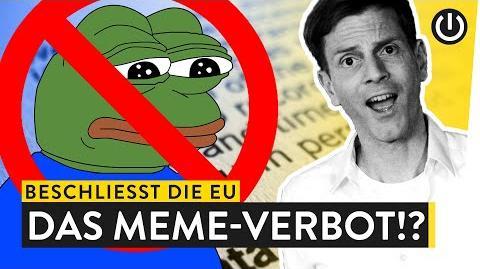 Das Ende der Memes? Die Folgen des neuen EU-Artikels 13 WALULYSE-0