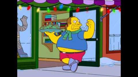 Die Simpsons - Weihnachtslied