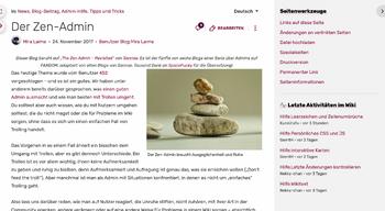 Blogbeitrag Beispiel