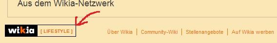 Einordnung des Wikia