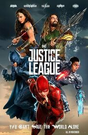 Justice League Kinoposter