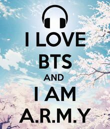 I love BTS - ARMY