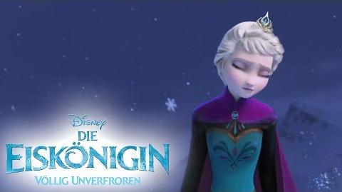 Let It Go - Sing Along - Song DIE EISKÖNIGIN - VÖLLIG UNVERFROREN - Music Frozen - Disney