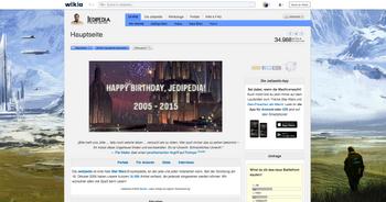 Jedipedia Hauptseite 2015