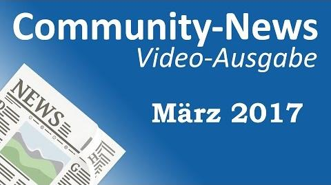 AML Tony/Community-News: März 2017