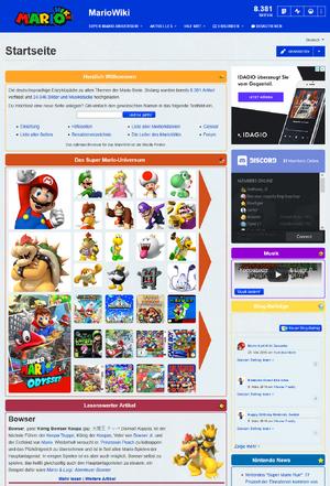 MarioWiki Hauptseite