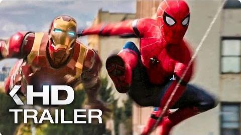 SPIDER-MAN Homecoming Trailer German Deutsch (2017)