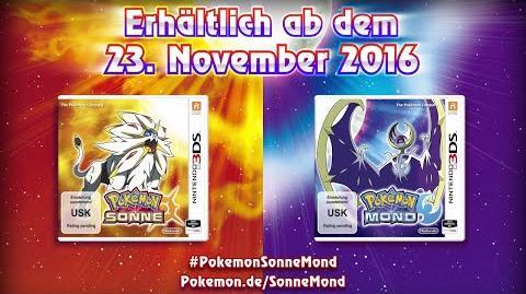 Deutscher & japanischer Pokémon Sonne & Mond Trailer mit Startern, Legis & Alola-Region