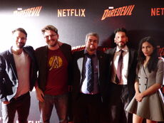 Wikianer in Paris Daredevil Screening Cast
