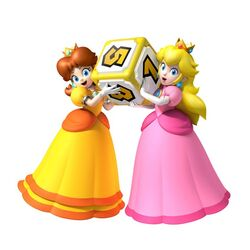 Mario Party 9 Peach Daisy