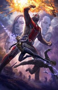 Ant-Man and the Wasp Comic Con Poster
