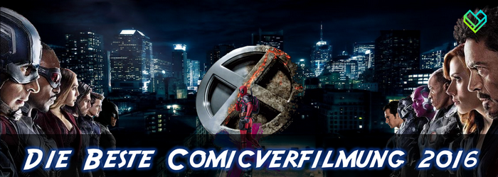 Comicverfilmung Header