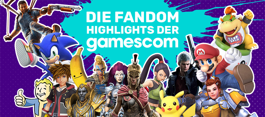 DE Gamescom 2018 Community main page