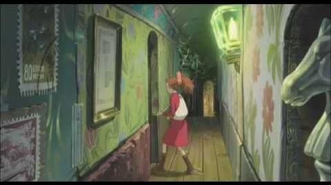 Arrietty - Die wundersame Welt der Borger - Trailer (deutsch german)