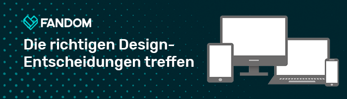 Design-Entscheidungen - Blog Header