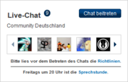 Chat-Modul Community Deutschland