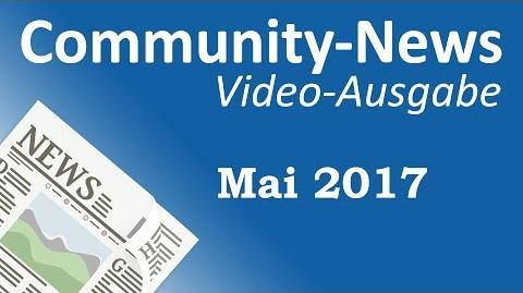 AML Tony/Community-News: Mai 2017