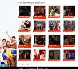 Glee Beziehungen