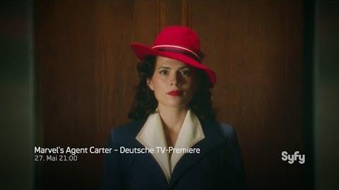 Marvel's Agent Carter Trailer 1 - Deutsche TV-Premiere - Syfy
