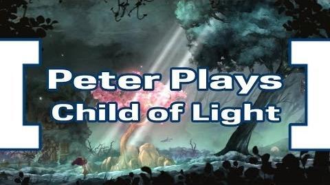 Peter Plays Child of Light