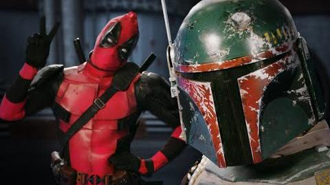 Deadpool vs Boba Fett. Epic Rap Battles of History - Bonus Battle!