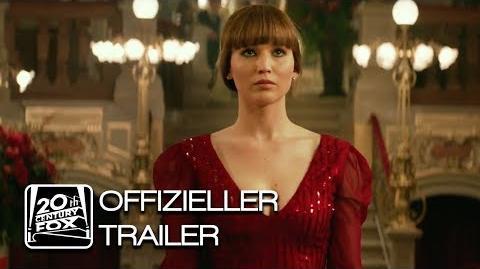 Red Sparrow Offizieller Trailer 2 Deutsch HD German (2018)