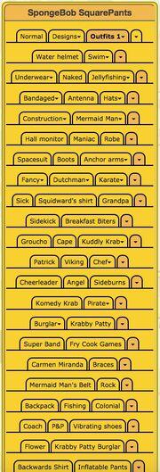 Spongebob Infobox