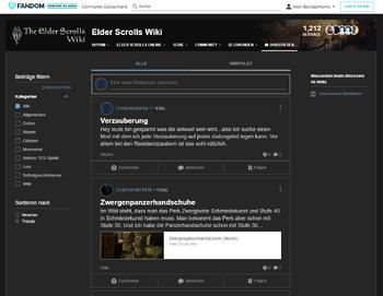 Elder Scrolls Liste