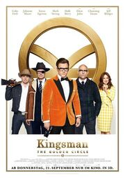 Kingsman - The Golden Circle Kinoposter