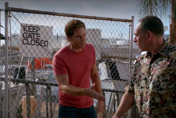 Dexter and Estrada meet