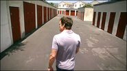 Dexter at Walter's storage facility