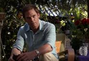 Dexter at Hannah's house