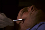 18 Dexter collects Roger's blood