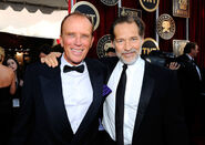 Peter Weller and James Remar