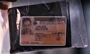 Boyd Fowler's driver license