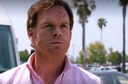 7 Dexter sprayed with Wayne's blood