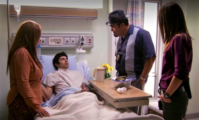 Jandro in hospital