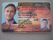 Saxon Driver License