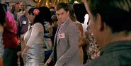 Dexter dances at his school reunion